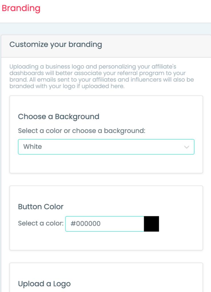 Custom brand with Shoutout