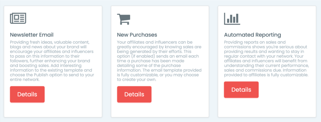 Newsletters within ShoutOut